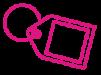 keyring pink