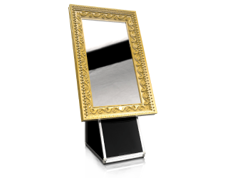 Seethrough magic mirror for event hire