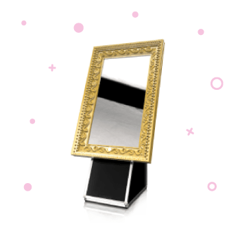 Sparkly Magic Mirror hire