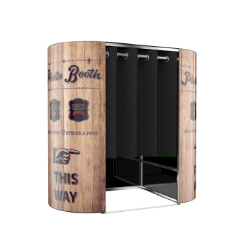 A 3d Illustration of our Photo Booth Hire